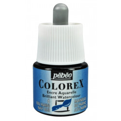 Colorex flacon de 45ml bleu marine