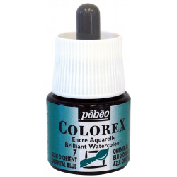Colorex flacon de 45ml bleu d'orient