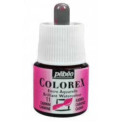 Colorex flacon de 45ml carmin