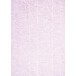 Carte porte nom 100x90 paquet de 5 - quartz rose