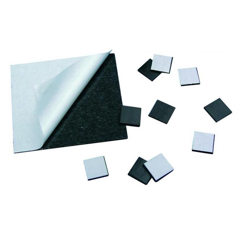 Aimant 15x15 mm autocollant aux bleuets - Aimant tableau magnetique ...