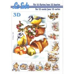 Carte 3D livret A5 à...