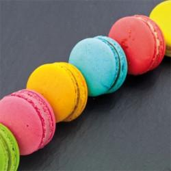 Image pour tableaux 3D 30x30 cm Macarons sur ardoise -  Aux Bleuets Loisirs créatifs à Reims
