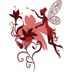Image pour tableaux 3D GK2430024 Elfe rose