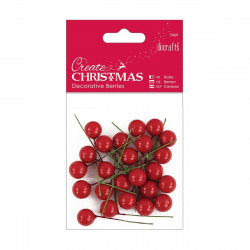 Decorative berries (24pk) -...