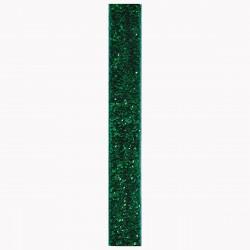 Ruban pailleté  vert 3m