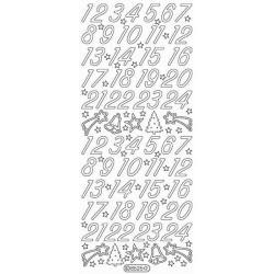 Stickers - 8525 - chiffres...