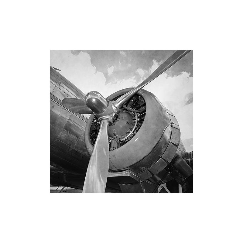 Image 3D - 0940007 - 30x30 - avion vintage