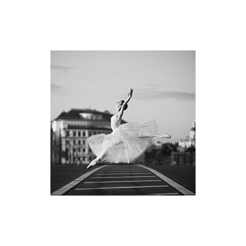 Image pour tableaux 3d 30x30 cm danseuse classique
