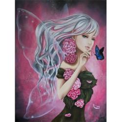 Image pour tableau 3D GK3040040 - Fairy lilou - Format 30x40 cm.