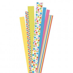 Quilling bandes de papier, flower garden