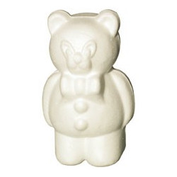 Ourson 170mm polystyrene