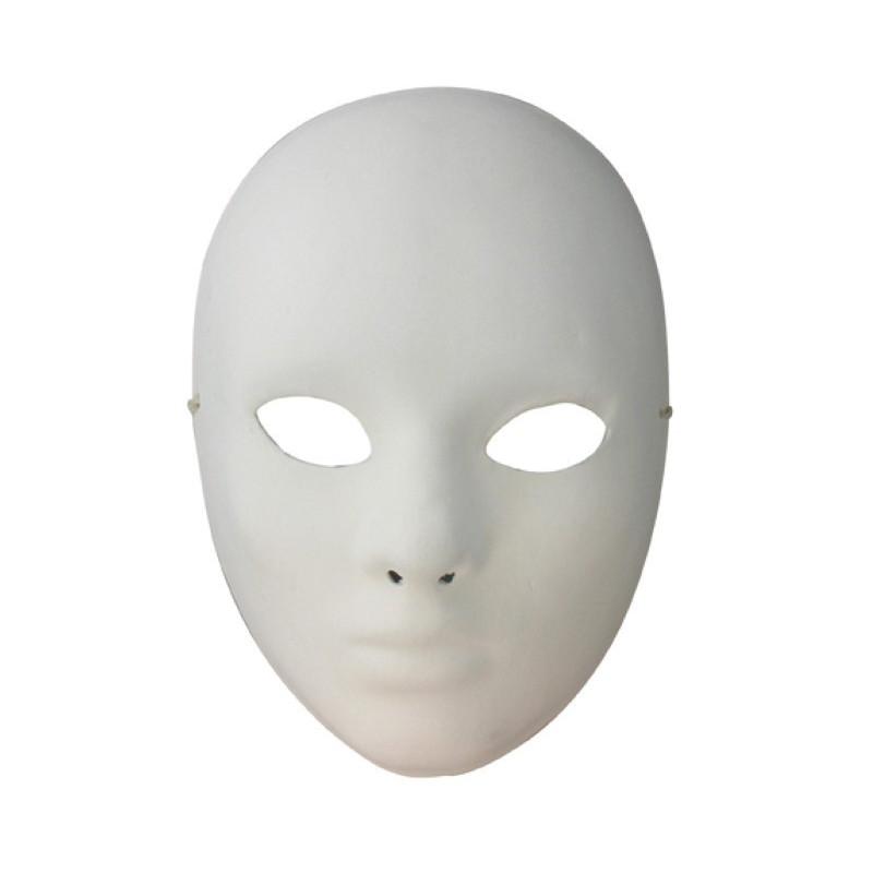 Masque De Venise Visage Platre