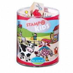 Stampo kids lili a la ferme