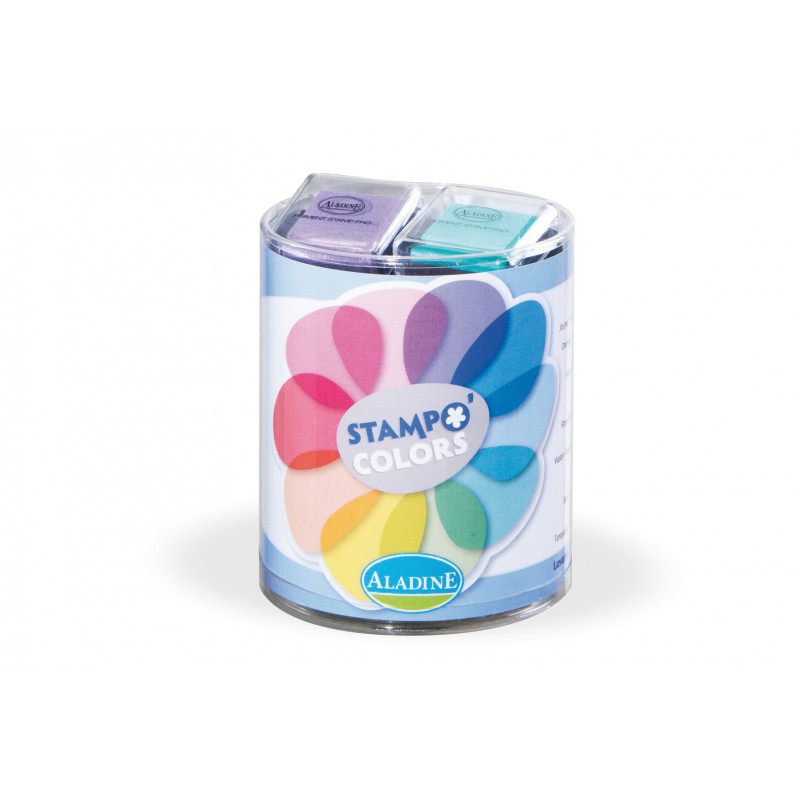 Stampo izink pastel 10 encreurs