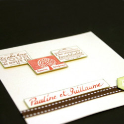 Stampo scrap mariage