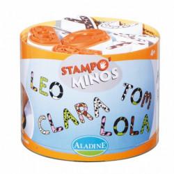Stampominos alphabets