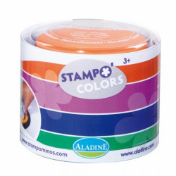 Stampo colors carnaval - 4 encreurs