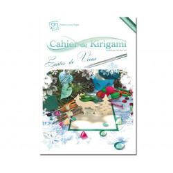 Cahier de kirigami n°10 - carte de voeux