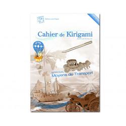 Cahier de kirigami n°11 - transports
