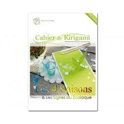 Cahier de kirigami n°12 - les 4 saisons et zodiaques