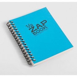 1/2 Zap book spirale 11x15 80g 160 pages