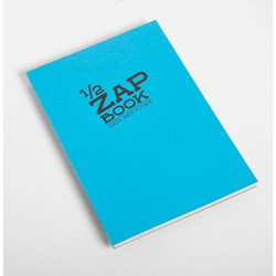 1/2 Zap book encollé A5 80g 160 pages