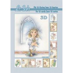 Carterie 3D LIVRE A5 - 12 cartes - Communion