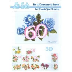 Carterie 3D LIVRE A5 - 12 cartes - Anniversaires