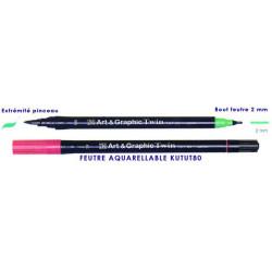 ZIG FEUTRE ART & GR. TWIN049 chamois clair