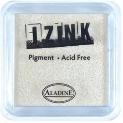 ENCREUR IZINK PIGMENT WHITE 5x5 cm