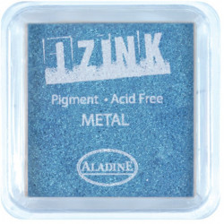 ENCREUR IZINK METAL LIGHT BLUE