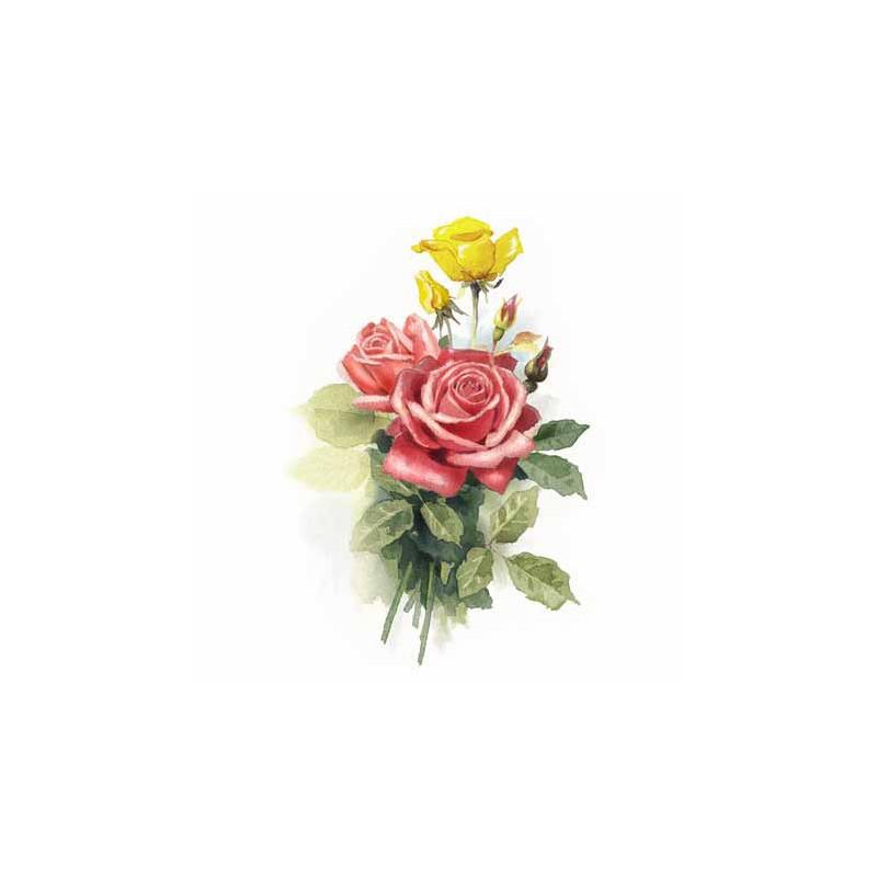 GK2430070 - 24x30 - BOUQUET DE ROSES