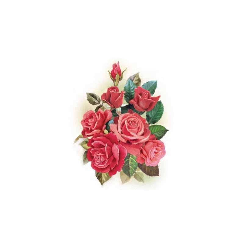 image 3d gk2430071 24x30 bouquet de roses rouges. Black Bedroom Furniture Sets. Home Design Ideas