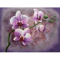 Images 3D sur les fleurs Format 30x40 cm