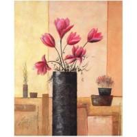 Images 3D sur les fleurs Format 40x50 cm