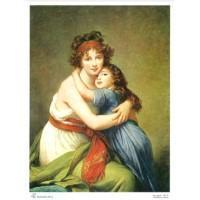 Images pour tableaux 3D avec des Femmes ou personnages Format 18x24 cm