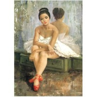 Images pour tableaux 3D avec des Femmes ou personnages Format 20x25 cm