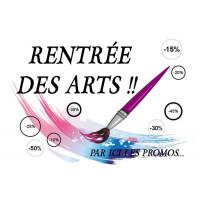 Promotions Rentrée des Arts