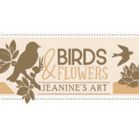 Collection Jeanine's Art Birds & Flowers