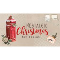 Tous les produits coordonnés de la collection Lovely Christmas, les dies , les papiers et les cartes 3D
