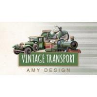 Retrouvez tous les articles coordonnés de cette nouvelle collection Vintage transport, les cartes 3D, les dies et les papiers assortis