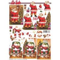 Cartes 3D Noël