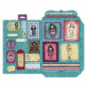 Pack Découpage A4 - Santoro - Pulling On Your Heartstrings